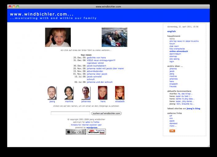 2003 - 2009 (windbichler.com)