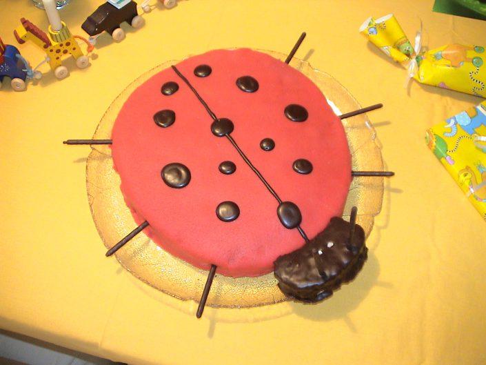 2004 - Jacobs 1. Geburtstag (Marienkäfer)