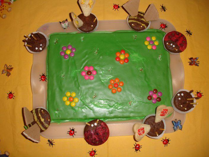 2007 - Johannas 2. Geburtstag (Blumenwiese)
