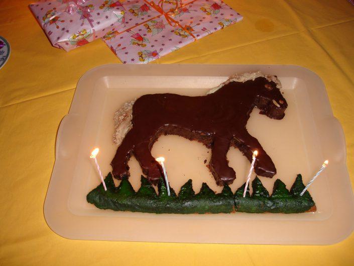 2009 - Johannas 4. Geburtstag (Pferd)
