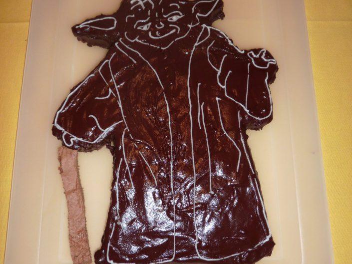 2011 - Jacobs 8. Geburtstag (Meister Yoda)