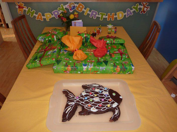 2011 - Johannas 6. Geburtstag (Fisch)