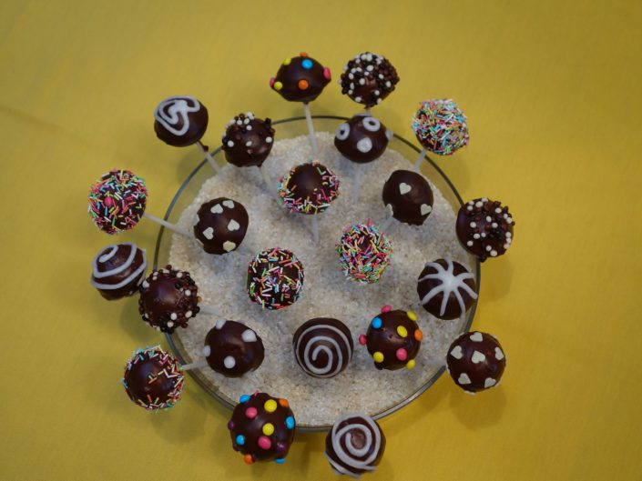 2014 - Johannas 9. Geburtstag (Cake Pops)